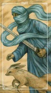 Page of Swords Ostara Tarot