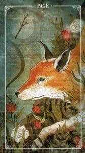 Page of Wands Ostara Tarot