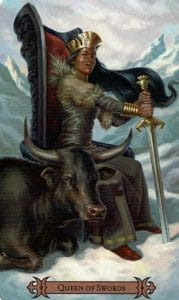 Queen of Swords Spellcaster Tarot