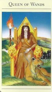 Queen of Wands Mythic Tarot