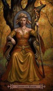 Queen of Wands Spellcaster Tarot