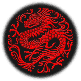 Red magnetic dragon