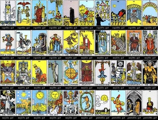 Rider Waite cards