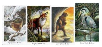 The Wildwood tarot cards