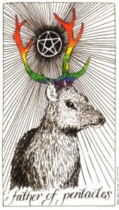 Wild Unknown tarot - Father of Pentacles