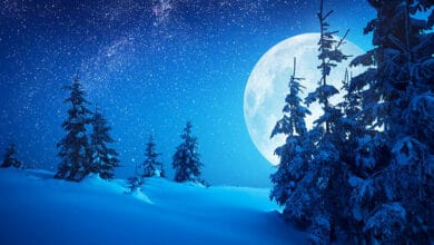 Full Snow Moon 2021