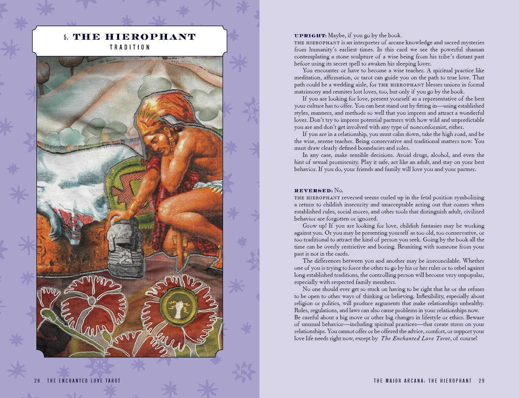 Enchanted Love Tarot - Book Companion
