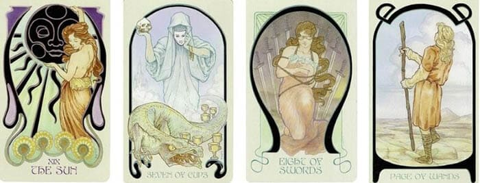 Ethereal Visions Illuminated Tarot cards
