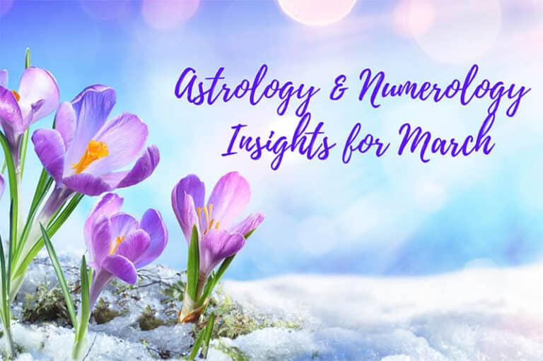 Astrology & Numerology for March 2021