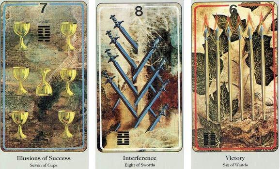 Haindl Tarot card visuals