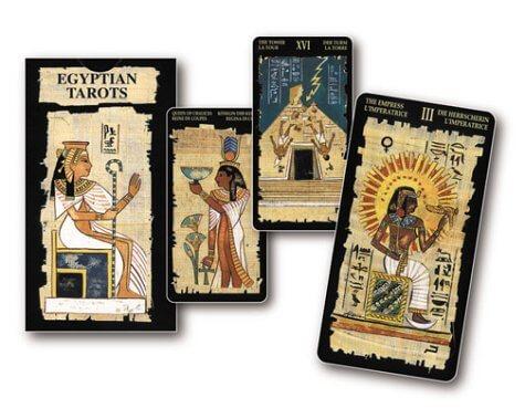 The Egyptian Tarot cards
