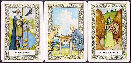 The Norse Tarot cards