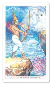 The Sacred India Tarot - Ace of Arrows
