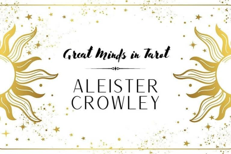 Great Minds in Tarot Aleister Crowley