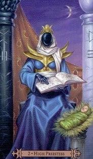 SCT The High Priestess card