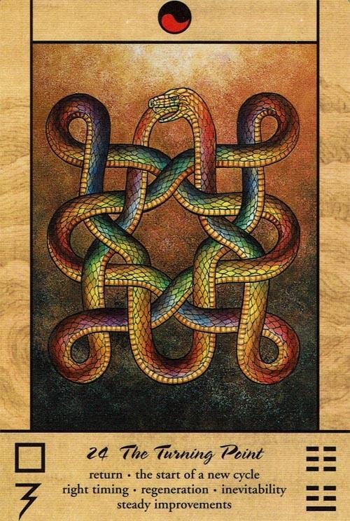 Tao Oracle Hexagram 24
