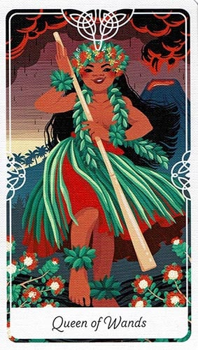 Tarot of the Divine Queen of Wands