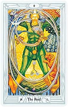 Thoth Tarot The Fool card