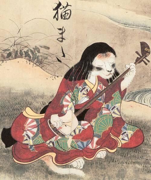 Chinese Cat Image Nekomata