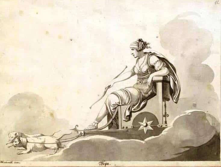 Freya Cat Chariot
