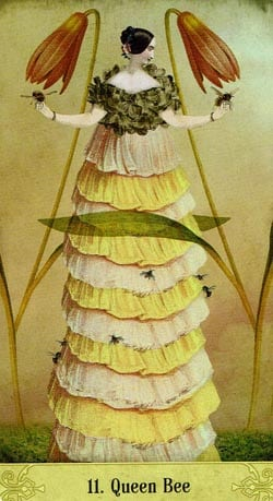 Oracle of Mystical Moments 11 Queen Bee