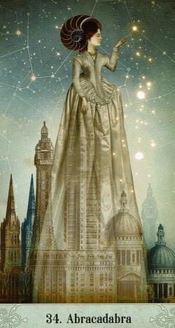 Oracle of Mystical Moments 34 Abrakadabra