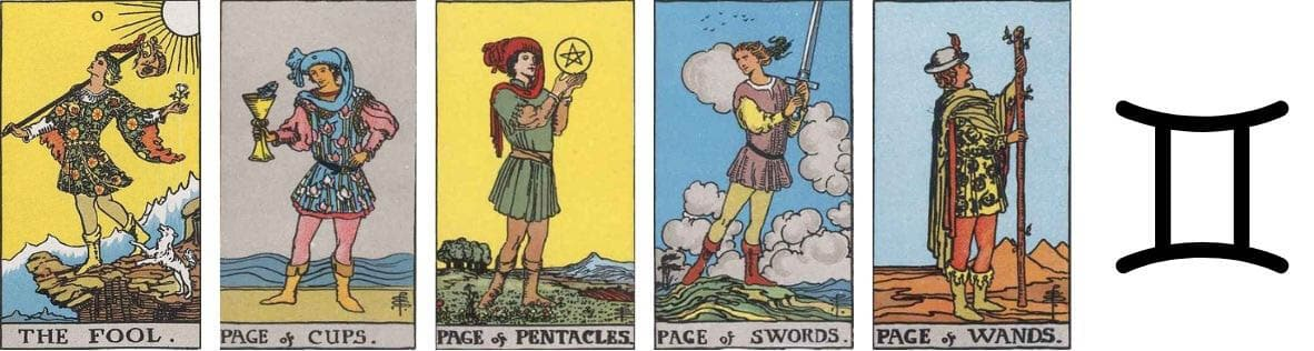 Psychic Archetypes The Student in tarot
