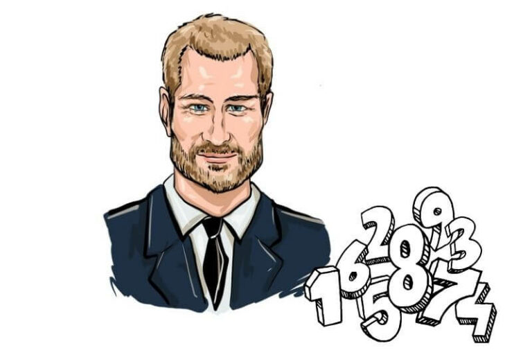 Numerology of Prince Harry