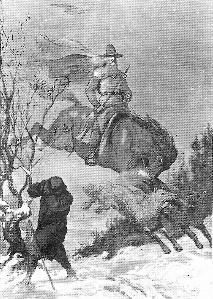 Odin and the Wild Hunt