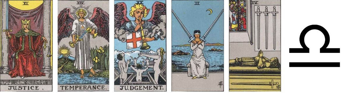 Psychic Archetypes The Peacekeeper in tarot