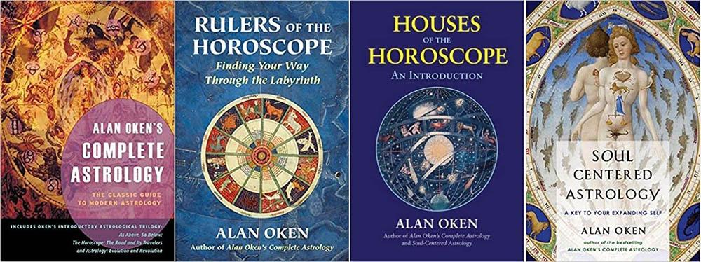 Alan Oken book covers