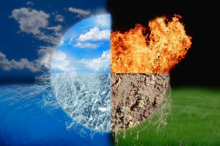 How the Elements Create Different People
