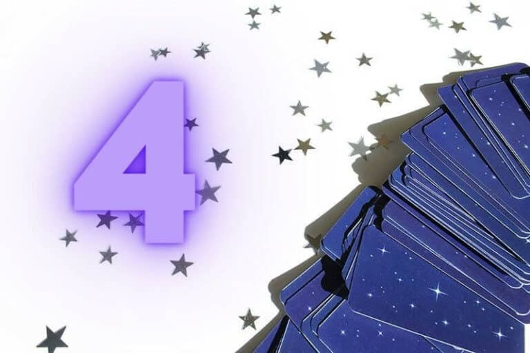 The Numerology of the Number 4 in Tarot
