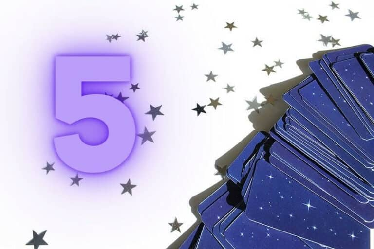 The Numerology of the Number 5 in Tarot