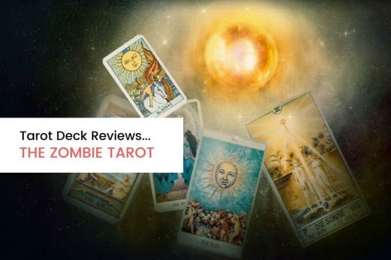Deck Review The Zombie Tarot