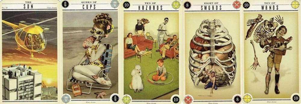 The Zombie Tarot cards