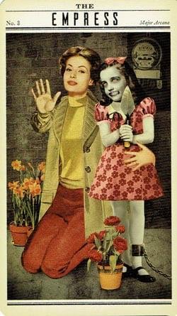 Zombie Tarot The Empress card