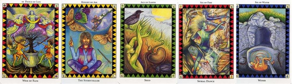 The Wild Spirit Tarot cards