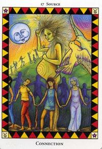 Wild Spirit Tarot Connection card