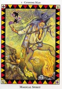 Wild Spirit Tarot Magical Spirit card