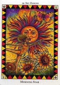 Wild Spirit Tarot Morning Star card