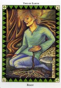 Wild Spirit Tarot Root card