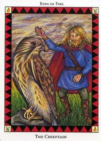 Wild Spirit Tarot The Chieftain card