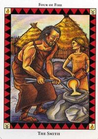 Wild Spirit Tarot The Smith card
