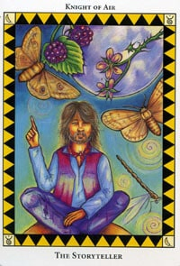 Wild Spirit Tarot The Storyteller