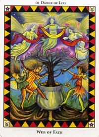 Wild Spirit Tarot Web of Fate card