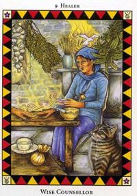 Wild Spirit Tarot Wise Counsellor card