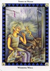 Wild Spirit Tarot Wishing Well card