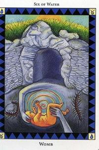 Wild Spirit Tarot Womb card